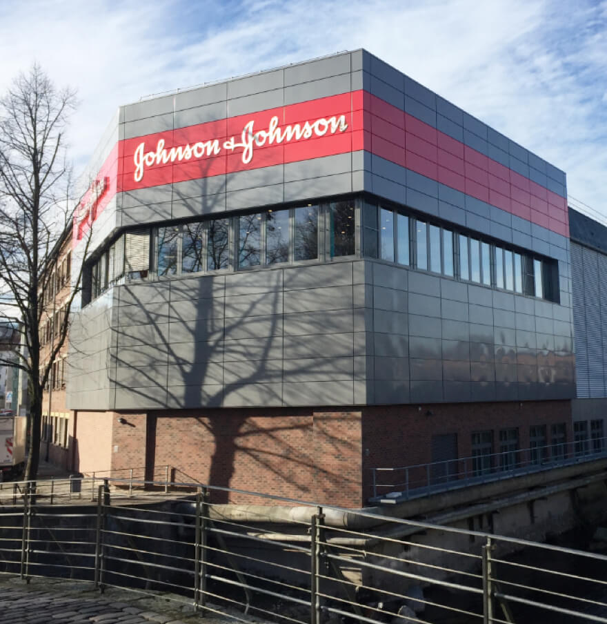 JNJ Standort in Wuppertal