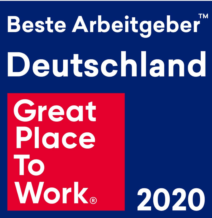 Auszeichnung Bester Arbeitgeber in Deutschland 2020